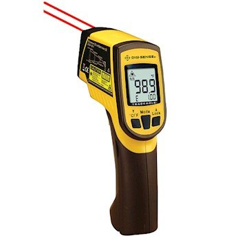 Digi-Sense Calibrated Dual Laser Infrared Thermometer with Type K, 12: 1 Ratio - Calibration Thermometer Infrared