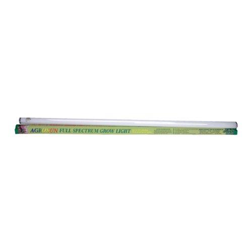 Hydrofarm Agrosun BUAG48 T12 Full Spectrum Fluorescent Tube, 40 Watt, 48 -