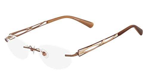 Óculos Airlock Infinity 201 210 Marrom Lente Tam 49