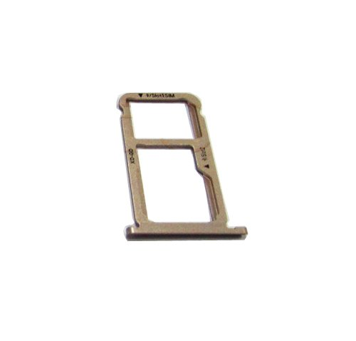 Sim Card Slot tray SIM Tray Sim Card Holder Slot for Huawei Honor 6X - Gold by Unknown