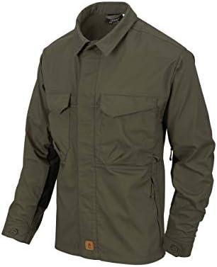 Helikon-Tex Woodsman Shirt - Taiga Green/Black