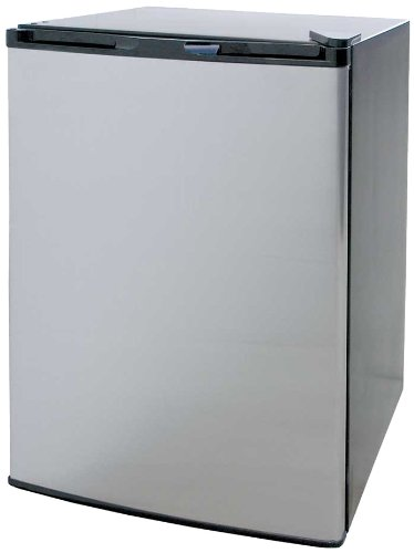 Cal Flame BBQ09849P 4.6 cu. ft. Refrigerator, Stainless - Stainless Flame Cal Refrigerator