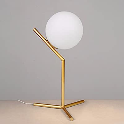 The orbs stained glass lamps Nordic minimalist modern creative personality and welcoming bedrooms are decorated to learning, sect. B button switch bedside lamp