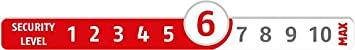 ABUS Messing-Vorhangschloss 85//40 02378