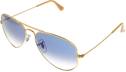 Ray Ban Sunglasses Aviator Gold Unisex RB3025 001/3F 55