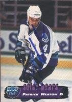 Card Collectors Edge Autographed (Patrick Neaton Orlando Solar Bears 1995 Collectors Edge Ice Autographed Card. This item comes with a certificate of authenticity from Autograph-Sports. Autographed)