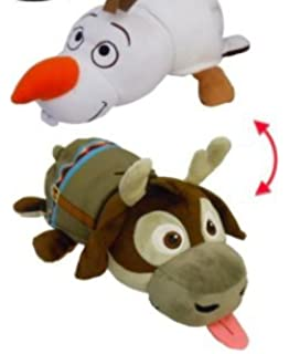 NEW! Disney Frozen - 14 inch Flipazoo Olaf to Sven Plush …