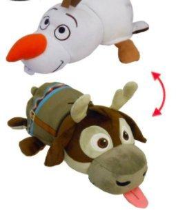 fdce5a2170bbc Amazon.com: NEW! Disney Frozen - 14 inch Flipazoo Olaf to Sven Plush ...