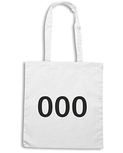 Shirt Shopper 000 TDM00001 Speed Borsa Bianca w6YxnqwO0d