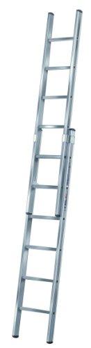 Brennenstuhl 1460160 Schiebeleiter Aluminium 2 x 12 Sprossen, 2-teilig