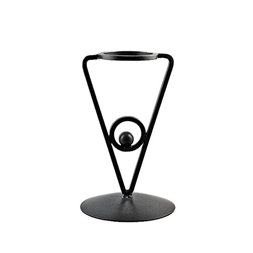 Triangle Black Wrought Sphere Holder product image