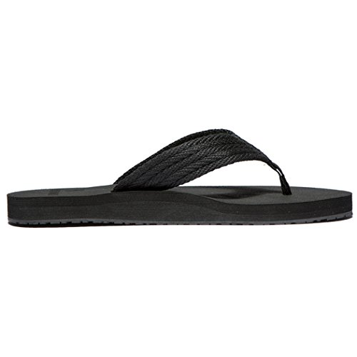 Women's All Black Comfortable Classical Newdenber flop Flip Ii fpW4dfqTw