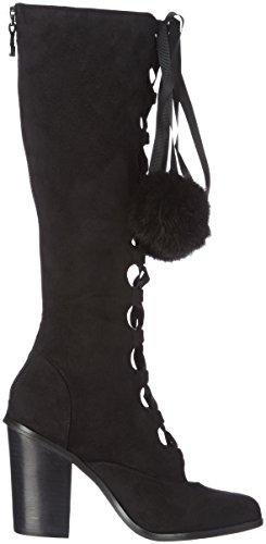 Lollipops Ypompon High Laces Boots, Stivali Donna Nero (Black (Nero))