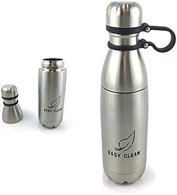 Amazon.com: Botella de agua fácil de limpiar – Botella más ...