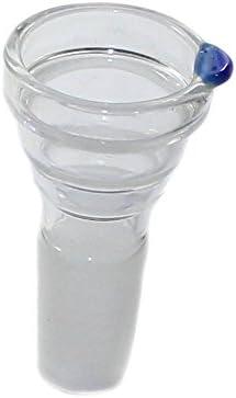 Budawi® - Kleiner Glaskopf auch als Flutschkopf geeignet Tabakkopf mit 14,5er Schliff für Adapter Chillum