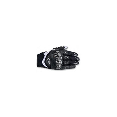 Alpinestars SMX-2 Air Carbon Women's Street Motorcycle Gloves - Black/Pink / Medium