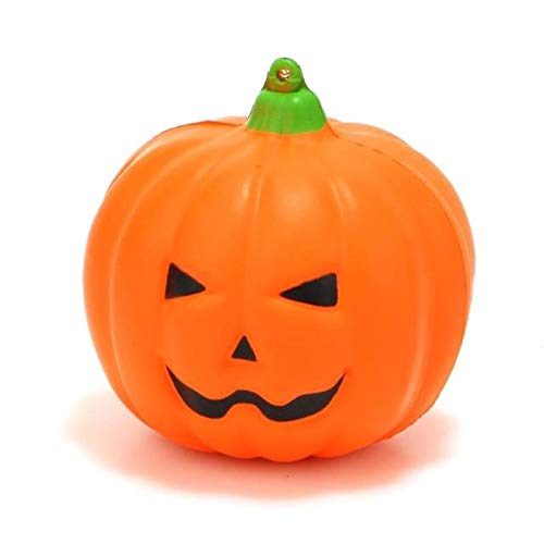 1 piece Squishy Cute Scented Halloween Pumpkin Soft Squeeze Slow Rising Stress Relief Phone Straps Funny Kids Toys Xmas Gifts