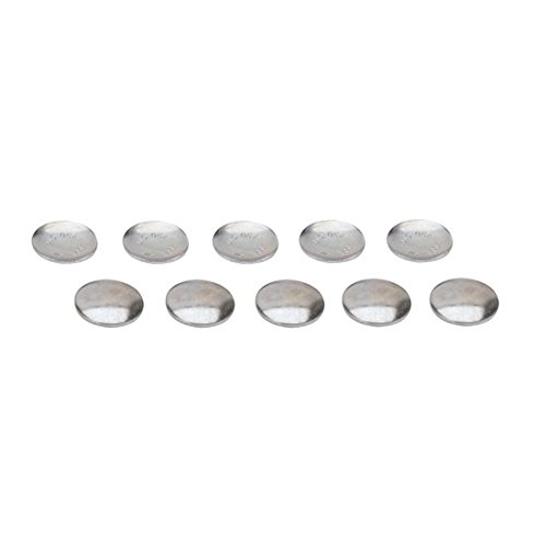 Concave Expansion Freeze Plugs, 1.250 Inch Steel Speedway Motors