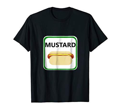 Mustard Halloween Shirt Matching Group Costume College Idea