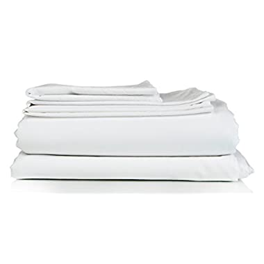 Queen Size Sheet Set - 6 Piece Set - Hotel Luxury Bed Sheets - Extra Soft - Deep Pockets - Easy Fit - Breathable & Cooling Sheets - Wrinkle Free - Comphy - White Bed Sheets - Queens Sheets - 6 PC