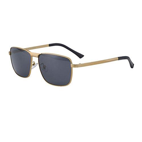 color Color diseño Gold conducen Hombres Ash las 4 polarizado que de retro sol gafas Grey Gun HONEY opcional A4wPqa