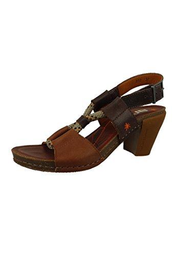 ART Braun Sandalette Cuero Sandale Feel 0212 Heeled Brown Knöchelriemchen Brown Cuero I Sandal rq50XxrEw