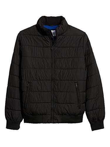 - GAP Mens Long Sleeve True Black Warmest Jacket (XL)