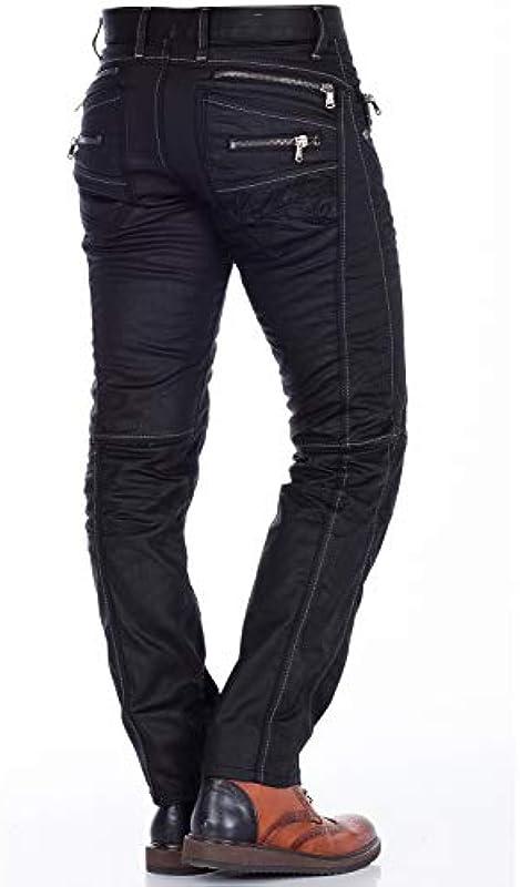Cipo & Baxx dżinsy męskie Straight Leg C-0751: Odzież