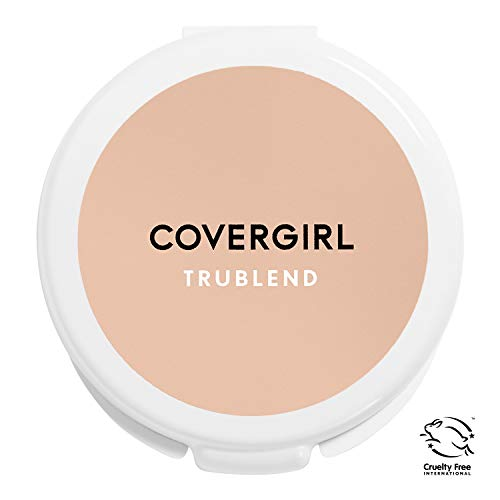 COVERGIRL truBlend Pressed Blendable Powder, Translucent Light L5-7, 0.39 Ounce (Packaging May Vary) Mineral Powder Makeup, Suitable for Sensitive Skin