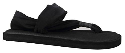 Thong Women's Kaleido Yoga Black Flops Flip Sandals Mat Lightweight HfSwxCSqA