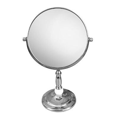 Elegant Home Fashions SM-C73 Freestanding Bath Magnifying Makeup Mirror