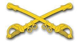 Cavalry Sticker - United States Army Cavalry Insignia Decal Sticker 5.5