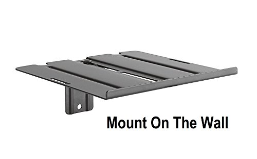 MountPlus DVD-31 Dual-Use DVD Shelf Mount For DVD players, AV Receivers, Cable Boxes, Speakers and Audio or Video Equipment (On the Wall Or Back of TV) - Audio Tv Box