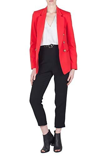 Corsellini 2019 estate Noir Primavera Simona Space P19smpa003 Tc Femme Couleur 01 Pantalons BP5STx
