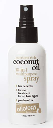 Oliology Coconut Oil 10-in1 Multipurpose Spray 4 oz Leave In