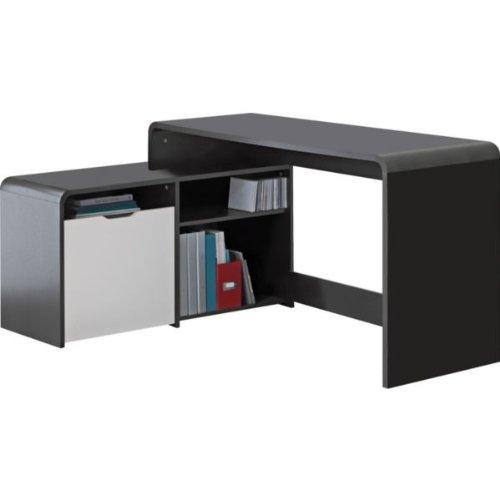 Black Corner Desk