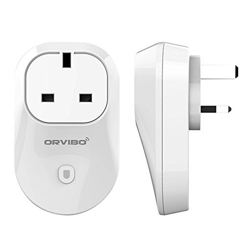 KINGMAS Orvibo WiFi Wireless Remote Control Timer Switch Socket Wall Plug for iPhone IOS Android (UK PLUG)