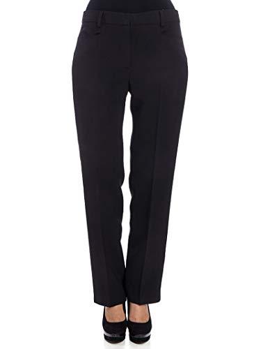 Pantalón Mujer Ferretti Satén Negro A03111626555 Alberta nqaWxX44