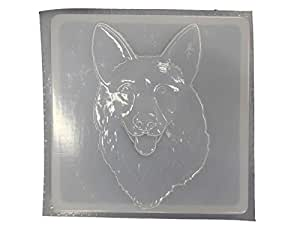 Amazon.com: German Shepherd Dog Stepping Stone Concrete or