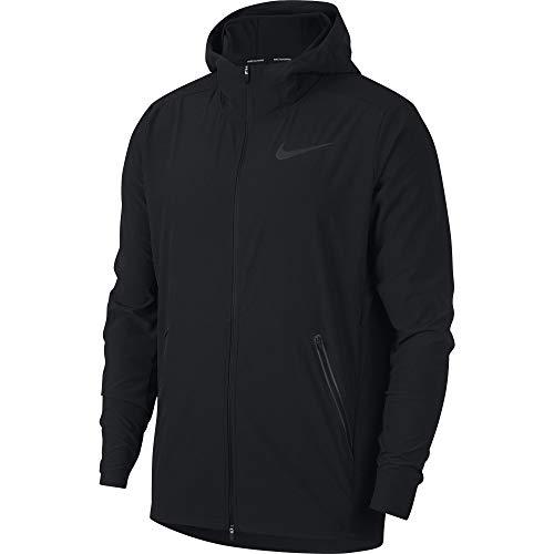 Nike Men's Swift Track Running Jacket Black/Reflect Black Size Large