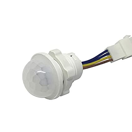 Aemiy PIR Infrared Motion Sensor Light Time Delay Adjustable Mode Detector Switch for Home Lighting