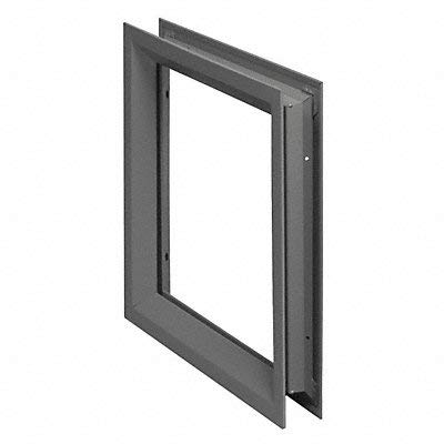 National Guard L-FRA100 24'' x 30'' NGP Low Profile Vision Lite Kit for Door Opening Cutout, 24'' x 30'' by National Guard