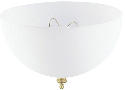 Ciata Lighting Clip-On Shade 7 3/4'' In. Dia White (2 Pack)