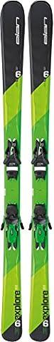 Elan Explore 6 LS Ski + EL 10.0 Shift Ski Binding 2017, Orange, 168 (Elan Explore)