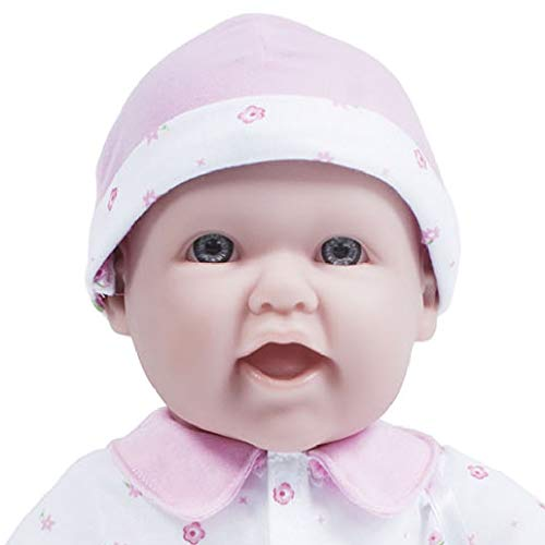 31tnfPbDS8L - JC Toys, La Baby 16-inch Pink Washable Soft Baby Doll with Baby Doll Accessories - for Children 12 Months and Older, Designed by Berenguer