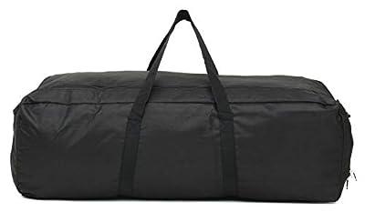 PROGLEAM Travel & Storage Bag, Outdoor Camping Travel Duffle Bag Waterproof Oxford Foldable Luggage Handbag Storage Pouch, M