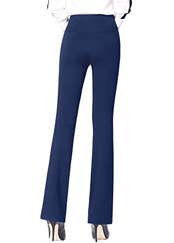 ABCWOO Womens Stretch Yoga Dress Pants for Office Work,High Waisted and Barely Flare 15