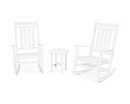 POLYWOOD Rocker Rocking Chair Set, White