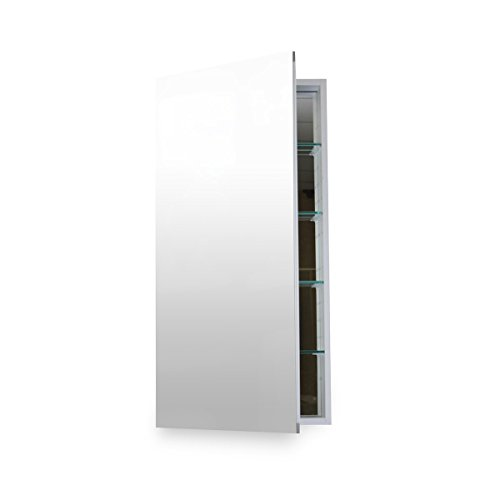 Right Hinge Medicine Cabinet (Flawless Bathroom MC 1630 Medicine Cabinet with Blum Soft Close Door Hinges, 16 x 30