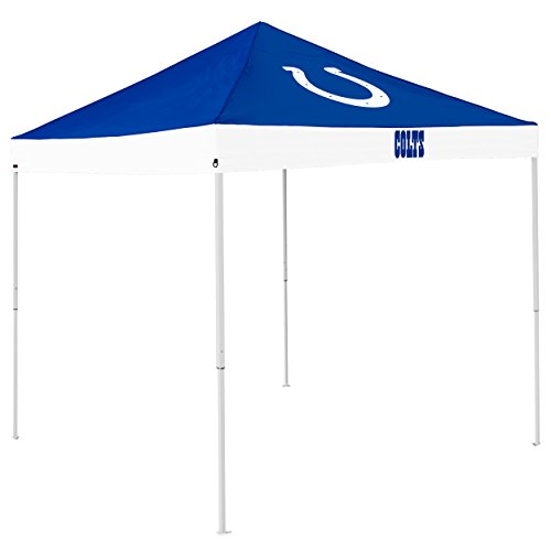 Logo Brands NFL Indianapolis Colts Economy Tent Economy Tent, Royal, One Size